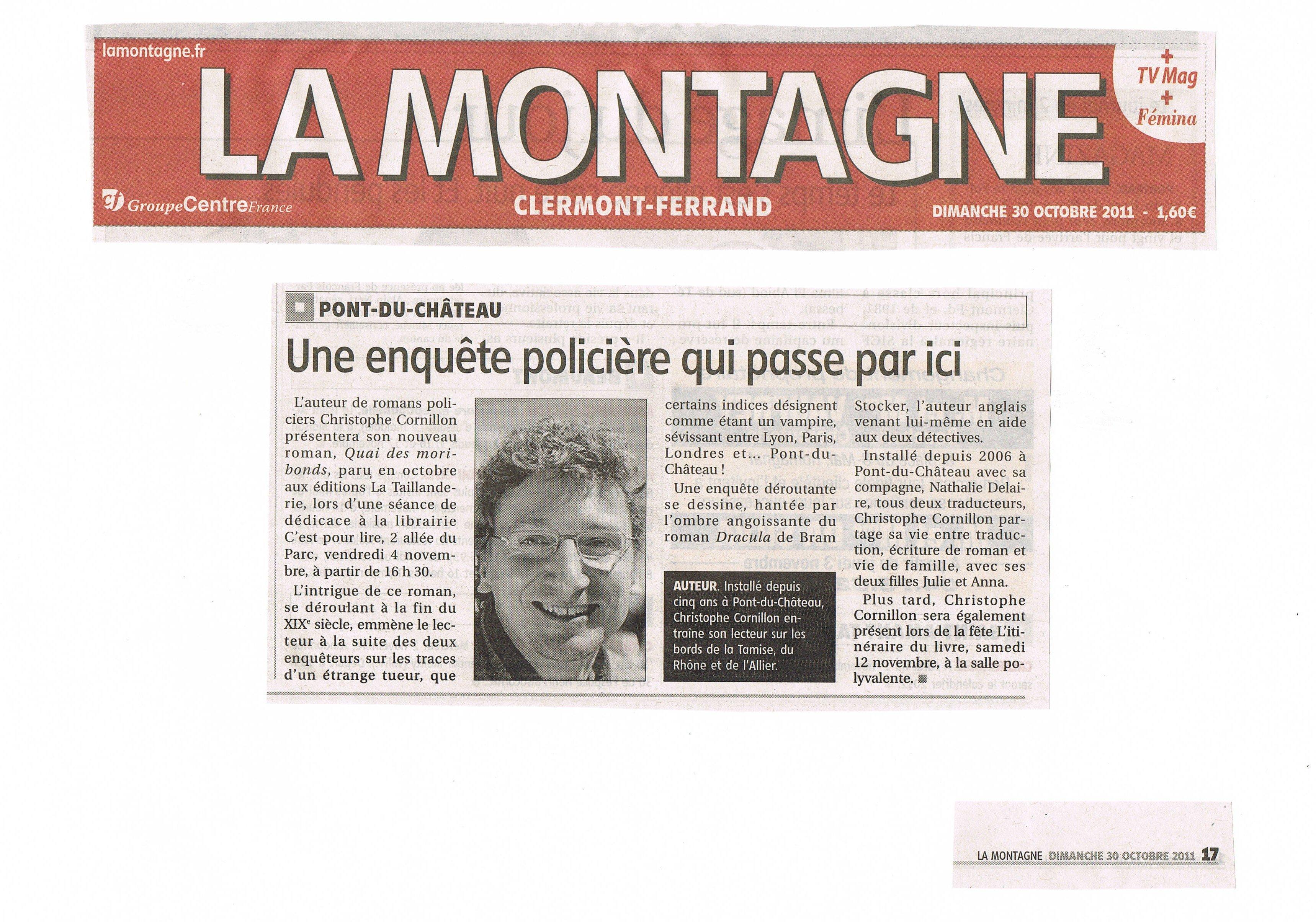 La Montagne 30.10.2011